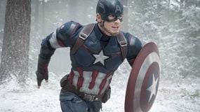 Captain america running